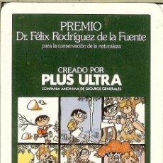 Coleccionismo Calendarios: CALENDARIO FOURNIER - 1984 - SEGUROS PLUS ULTRA. Lote 144905798