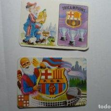 Coleccionismo Calendarios: LOTE CALENDARIOS FUTBOL BARCELONA FC 1985-1994. Lote 144916598