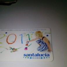 Coleccionismo Calendarios: CALENDARIO DE BOLSILLO. 2011. SANTALUCIA. 2011. Lote 145108310