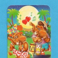 Coleccionismo Calendarios: CALENDARIOS EXTRANJEROS DEL AÑO 1995 DIBUJOS DE ELEFANTES BAILANDO . Lote 145154210