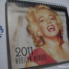 Coleccionismo Calendarios: ANTIGUO CALENDARIO CON MUCHAS FOTOS MARILYN MONROE. Lote 145292462