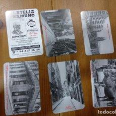 Coleccionismo Calendarios: LOTE 6 CALENDARIOS 2008 FILATELIA UNAMUNO BILBAO. Lote 145399238