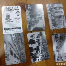 Coleccionismo Calendarios: LOTE 6 CALENDARIOS 2010 FILATELIA UNAMUNO BILBAO. Lote 145399298