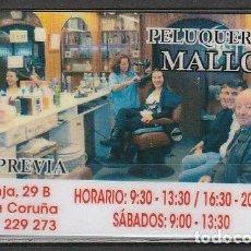 Coleccionismo Calendarios: CALENDARIO BOLSILLO PELUQUERIA MALLO PLASTIFICADO 2014 POCKET CALENDAR KALENDER CALENDRIER KALENDAR. Lote 145535938