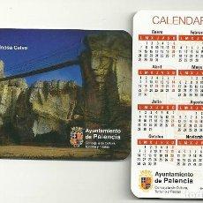 Coleccionismo Calendarios: CALENDARIO PUBLICITARIO. AYUNTAMIENTO DE PALENCIA. AÑO 2019. Lote 147596444