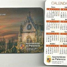 Coleccionismo Calendarios: CALENDARIO PUBLICITARIO. AYUNTAMIENTO DE PALENCIA. AÑO 2019. Lote 147596462