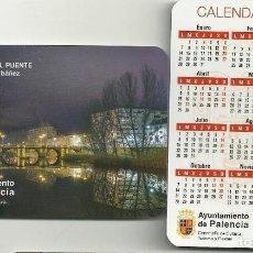 Coleccionismo Calendarios: CALENDARIO PUBLICITARIO. AYUNTAMIENTO DE PALENCIA. AÑO 2019. Lote 147596501