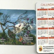 Coleccionismo Calendarios: CALENDARIO PUBLICITARIO. AYUNTAMIENTO DE PALENCIA. AÑO 2019. Lote 147596520