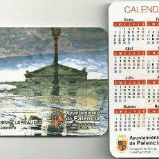 Coleccionismo Calendarios: CALENDARIO PUBLICITARIO. AYUNTAMIENTO DE PALENCIA. AÑO 2019. Lote 147596554