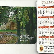 Coleccionismo Calendarios: CALENDARIO PUBLICITARIO. AYUNTAMIENTO DE PALENCIA. AÑO 2019. Lote 147596572