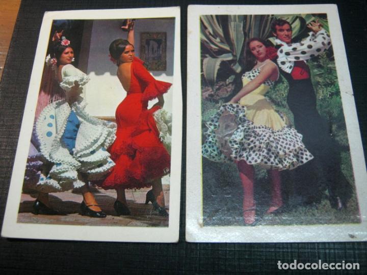 1969 Y 1970 - 2 CALENDARIOS FOTO FLAMENCO (Coleccionismo - Calendarios)