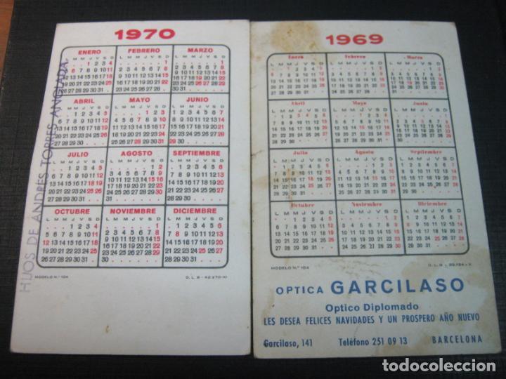 Coleccionismo Calendarios: 1969 y 1970 - 2 calendarios foto Flamenco - Foto 2 - 145850042