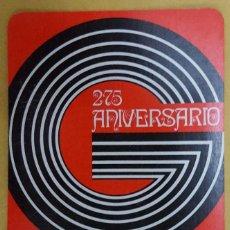 Coleccionismo Calendarios: CALENDARIO DE BOLSILLO / L. GUARRO CASAS 1973. Lote 145957866