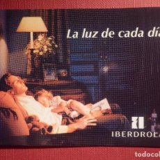 Coleccionismo Calendarios: CALENDARIO DE BOLSILLO - IBERDROLA - LA LUZ DE CADA DÍA - 1995 . Lote 145973822
