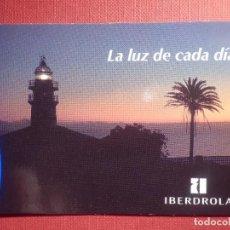 Coleccionismo Calendarios: CALENDARIO DE BOLSILLO - IBERDROLA - LA LUZ DE CADA DÍA - 1994. Lote 145974090