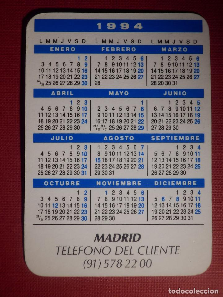 Coleccionismo Calendarios: Calendario de Bolsillo - Iberdrola - La Luz de Cada Día - 1994 - Foto 2 - 145974090