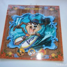Coleccionismo Calendarios: LOONEY TUNES 2001 CALENDAR - CALENDARIO DE PARED - 2001. Lote 146126854