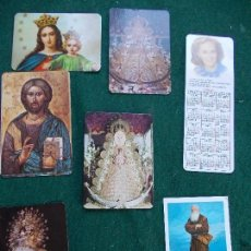 Coleccionismo Calendarios: LOTE CALENDARIOS RELIGIOSOS. Lote 146224886