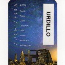Coleccionismo Calendarios: CALENDARIO BOLSILLO - IMPRENTA SUCH SERRA - AÑO 2019. Lote 151914816
