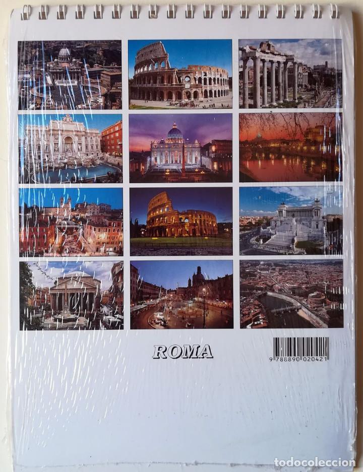 Coleccionismo Calendarios: ALMANAQUE DE MESA. ROMA 2002. 12 VISTAS - Foto 2 - 146493386