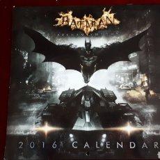 Coleccionismo Calendarios: BATMAN ARKHAM NIGHT CALENDARIO 2016 COMO NUEVO.. Lote 146536601