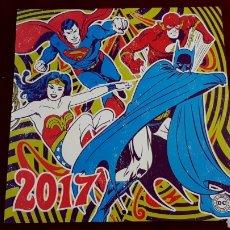 Coleccionismo Calendarios: MARVEL CALENDARIO 2017. DC COMICS ORIGINAL.. Lote 146537092