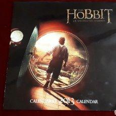 Coleccionismo Calendarios: THE HOBBIT. EL HOBBIT. CALENDARIO 2013.. Lote 146537842