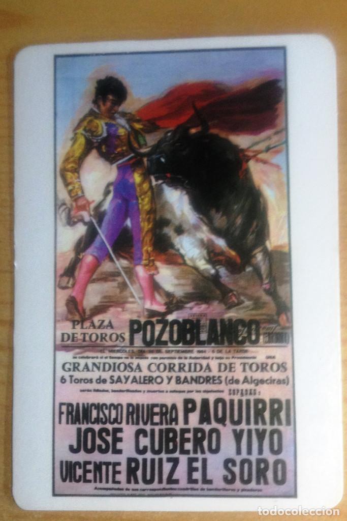 CALENDARIO- CARTEL MALDITO. POZOBLANCO- MUERTE DE PAQUIRRI (Coleccionismo - Calendarios)