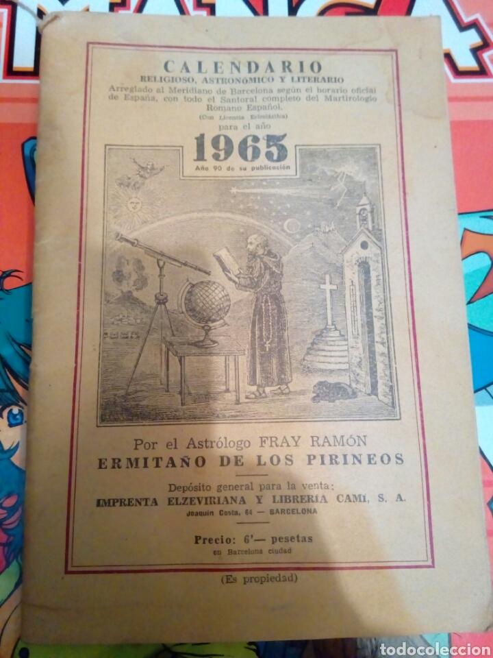 Calendario Religioso.Calendario Religioso Astronomico Y Literario An Sold