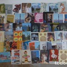 Coleccionismo Calendarios: LOTE 76 CALENDARIO ANTIGUO DE BOLSILLO CON PUBLICIDAD. CALENDARIOS DE 1970 A 1973.. Lote 146593618