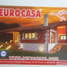Coleccionismo Calendarios: CALENDARIO EUROCASA 2010. Lote 146657494