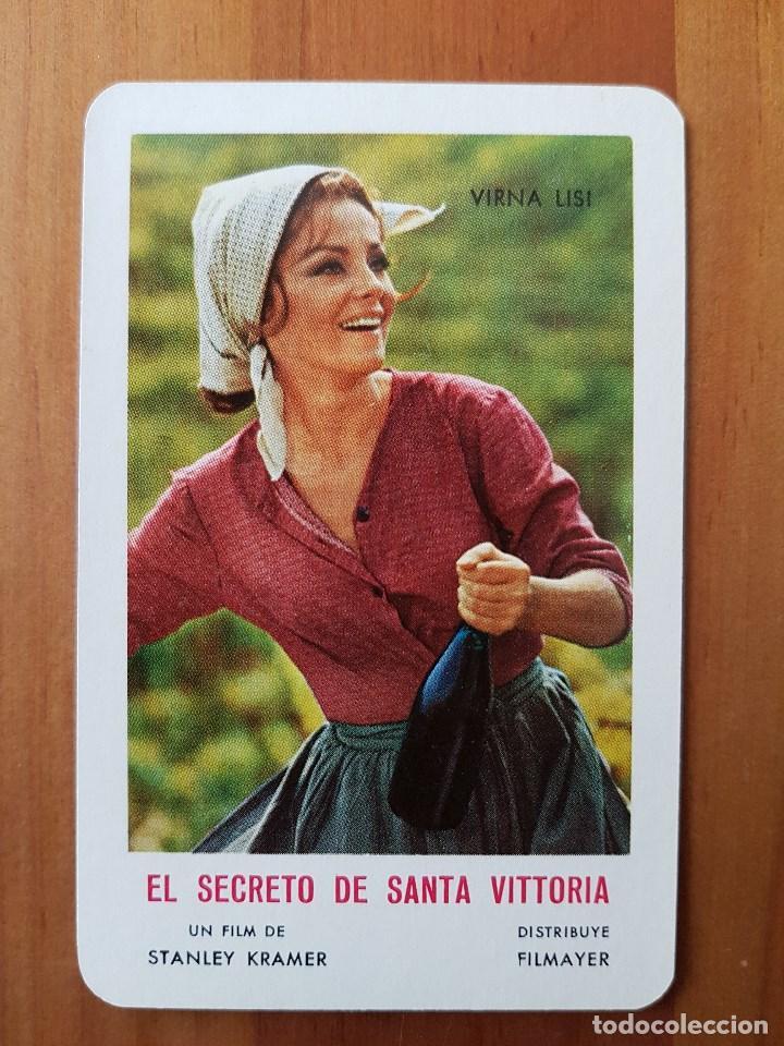 CALENDARIO PELICULA EL SECRETO DE SANTA VICTORIA DE STANLEY KRAMER. 1971. (Coleccionismo - Calendarios)