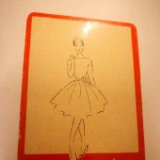 Coleccionismo Calendarios: CALENDARIO DE BOLSILLO AÑO 1960 - NONTEX (TELAS, TEXTIL). Lote 146737510