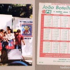 Coleccionismo Calendarios: CALENDARIO EDITADO EN PORTUGAL- AÑO 1994 - DIA DA CRIANÇA. Lote 147175674