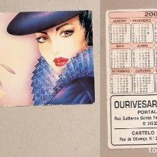Coleccionismo Calendarios: CALENDARIO EDITADO EN PORTUGAL- AÑO 2001 - OURIVESARIA PARRA - CASTELO DE VIDE. Lote 147272962