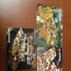 Coleccionismo Calendarios: 3 CALENDARIO BOLSILLO BUFFET LA STRADA. Lote 147365262