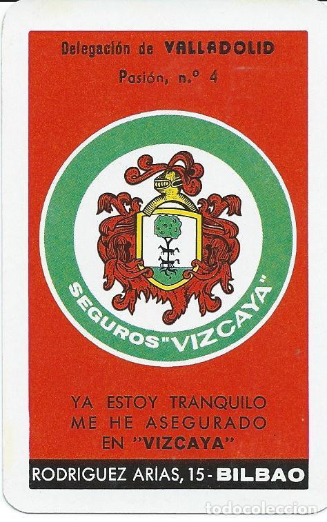CALENDARIO FOURNIER SEGUROS VIZCAYA-AÑO 1968 (Sammelleidenschaft Papier - Kalender)