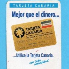 Coleccionismo Calendarios: CALENDARIO DE CASA H. FOURNIER DEL AÑO 1990 PUBLICIDAD DE LA CAJA DE CANARIAS. Lote 147435262