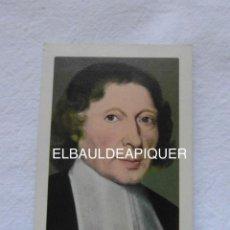 Coleccionismo Calendarios: CALENDARIO DE BOLSILLO DE 1962 DE SAN JUAN BAUTISTA DE LA SALLE. PATRON DE LOS EDUCADORES. DEBIBL. Lote 147672922
