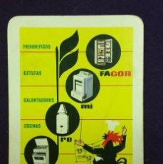 Coleccionismo Calendarios: CALENDARIO FOURNIER. FAGOR. 1964. Lote 147728618