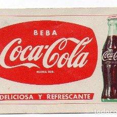 Coleccionismo Calendarios: CALENDARIO FOURNIER COCA COLA 1960. Lote 147767674