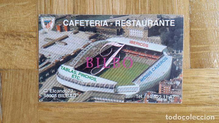CALENDARIO PUBLICITARIO -- FUTBOL ATHLETIC CLUB DE BILBAO - CAFETERIA BILBO AÑO 2001 (Coleccionismo - Calendarios)