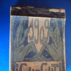 Coleccionismo Calendarios: (CAT-190100)CALENDARIO CU-CUT AÑO 1909. Lote 148269102