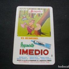 Coleccionismo Calendarios: CALENDARIO FOURNIER- PEGAMENTO IMEDIO - AÑO 1978 EL DE LA FOTOS VER TODOS MIS CALENDARIOS. Lote 148298494