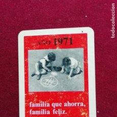 Coleccionismo Calendarios: FOURNIER. CAJA DE AHORROS DE VALENCIA 1971. Lote 148314398