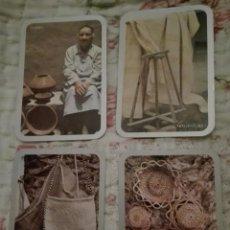 Coleccionismo Calendarios: -73833 4 CALENDARIOS ARTESANÍA CANARIA, AÑO 1987, GOBIERNO DE CANARIAS. Lote 148490362