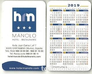 Calendario 2019 Murcia.Calendario Publicitario Hotel Manolo Cartagen Sold Through