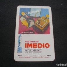 Coleccionismo Calendarios: CALENDARIO FOURNIER- PEGAMENTO IMEDIO AÑO 1972 -EL DE LA FOTOS VER TODOS MIS CALENDARIOS. Lote 148621190