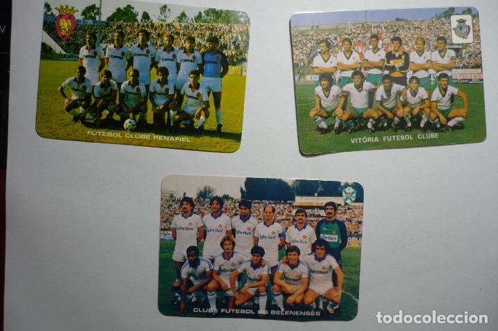 LOTE CALENDARIOS EXTRANJEROS FUTBOL 1985-FUTBOL EQUIPOS PORTUGAL (Coleccionismo - Calendarios)