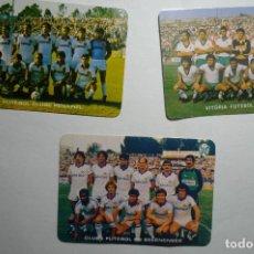 Coleccionismo Calendarios: LOTE CALENDARIOS EXTRANJEROS FUTBOL 1985-FUTBOL EQUIPOS PORTUGAL. Lote 148638538
